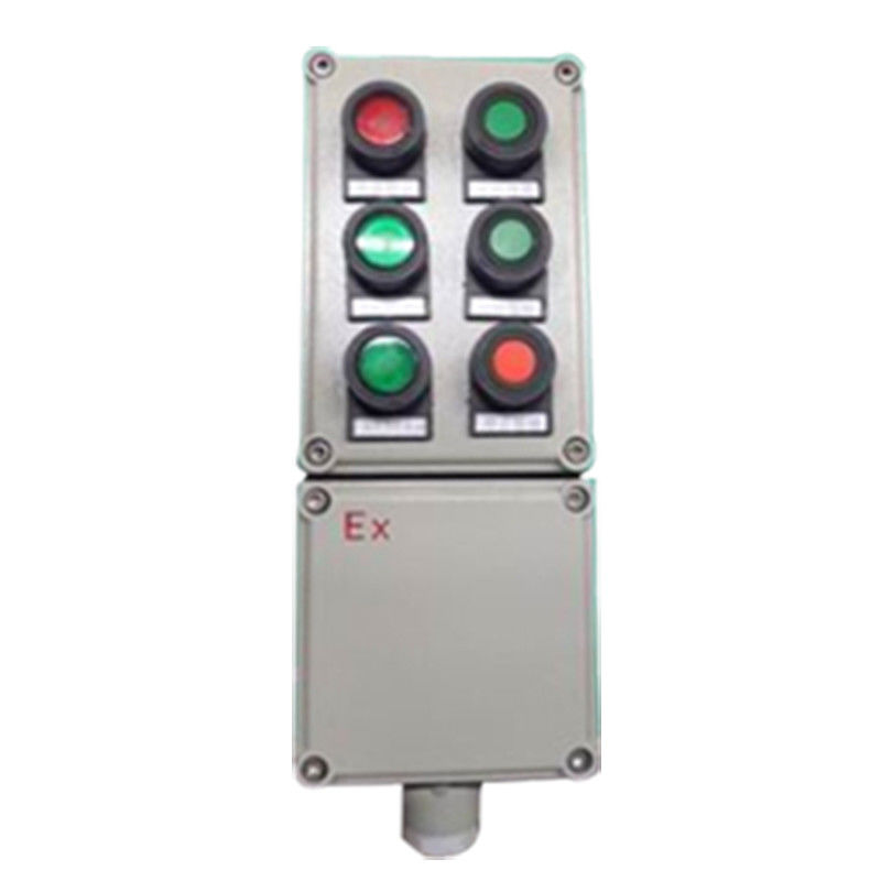 380V IP65 Electrical Explosion Proof Control Station For Gas Atmosphers
