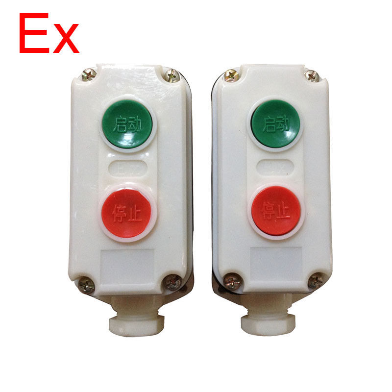 Plastic Explosion Proof On Off Switch , Anti Corrosive Push Button Switch