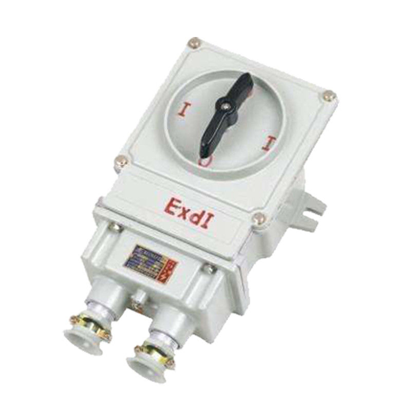 2 Poles Explosion Proof Changeover Switch , 60A Explosion Proof Rotary Switch