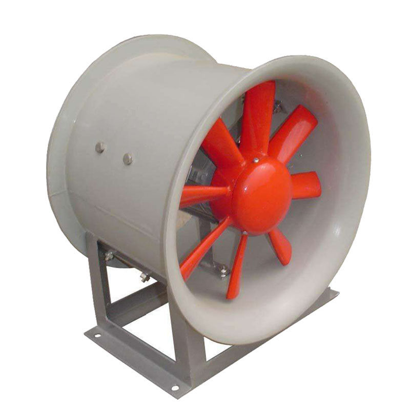 Gray Aluminum Explosion Proof Duct Fan , Industrial Class 1 Div 1 Exhaust Fan
