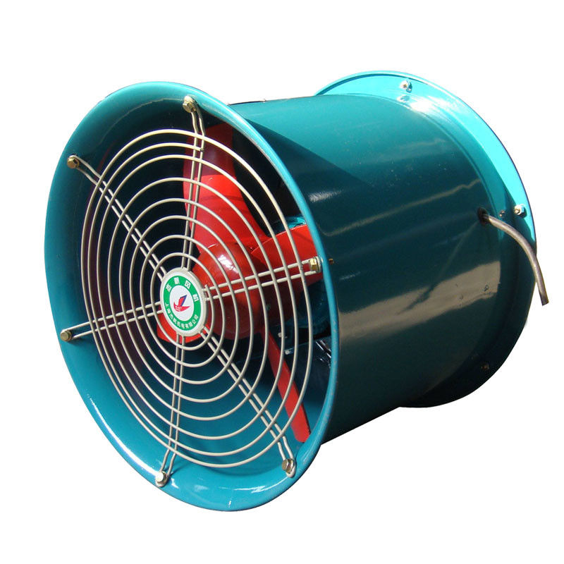 Low Pressure Flame Proof Exhaust Fans , Hazardous Area Explosion Proof Axial Fan